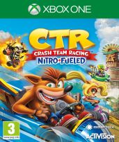 Crash Team Racing: Nitro Fueled (XBOX1) + darček nálepky