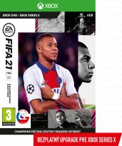 FIFA 21 - Champions Edition CZ (XBOX1) + darček tričko
