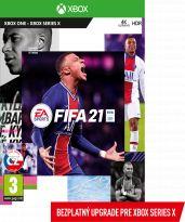 FIFA 21 CZ (XBOX1) + darček tričko