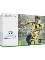 Příslušenství ke konzoli Xbox One XBOX ONE S - herní konzole (1TB) + FIFA 17 CZ + 1 měsíc EA Access