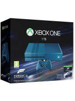 Príslušenstvo ku konzole Xbox One XBOX ONE - herná konzola (1TB) (modrá) + Forza Motorsport 6