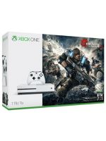 Příslušenství ke konzoli Xbox One XBOX ONE S - herní konzole (1TB) + Gears of War 4