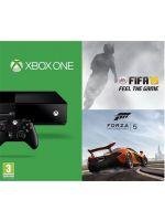 Príslušenstvo ku konzole Xbox One XBOX ONE - herná konzola (500GB) + FIFA 15 + Forza 5 (slovenská verzia)
