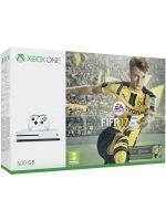 Příslušenství ke konzoli Xbox One XBOX ONE S - herní konzole (500GB) + FIFA 17 CZ + 1 měsíc EA Access