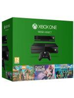 Příslušenství ke konzoli Xbox One XBOX ONE - herní konzole (500GB) + kinect + Dance Central + Kinect Sport + Zoo Tycoon