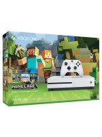 Pr�slu�enstvo ku konzole Xbox One XBOX ONE S - hern� konzola (500GB) + Minecraft: Xbox One Edition