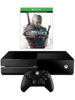 Príslušenstvo ku konzole Xbox One XBOX ONE - herná konzola (500GB) + Zaklínač 3