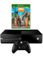 Príslušenstvo ku konzole Xbox One XBOX ONE - herná konzola (500GB) + Zoo Tycoon