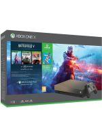 Príslušenstvo ku konzole Xbox One Konzola Xbox One X 1TB + Battlefield V DE + BF1943 + BF1 Revolution + FIFA 19