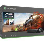 Konzola Xbox One X 1TB + Forza Horizon 4 + Forza Motorsport 7 (XBOX1HW)