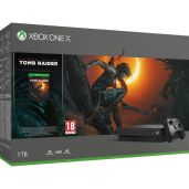 Príslušenstvo ku konzole Xbox One Konzola Xbox One X 1TB + Shadow of the Tomb Raider