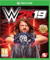 hra pre Xbox One WWE 2K19 - Steelbook Edition