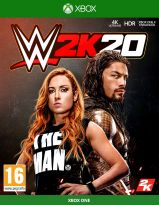 WWE 2K20 (XBOX1) + darček kľúčenka + dlc