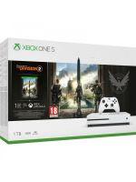 Příslušenství ke konzoli Xbox One Konzole Xbox One S 1TB + The Division 2