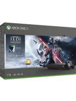 Konzola Xbox One X 1TB + Star Wars Jedi: Fallen Order (XBOX1HW)