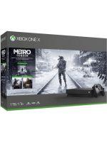 Konzola Xbox One X 1TB - Metro Trilogy Bundle (XBOX1HW)