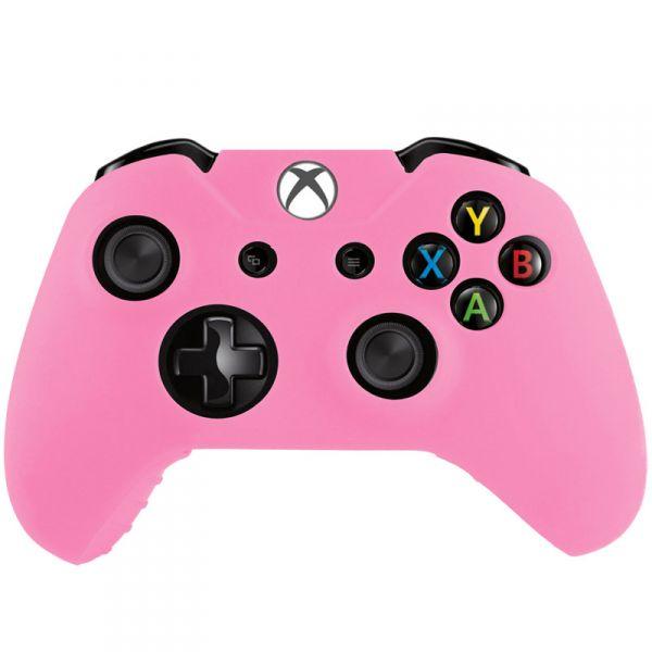 obrázek Silikonový kryt na Xbox One ovladač (růžový) ... 6093275e078