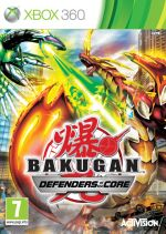 Hra pre Xbox 360 Bakugan: Battle Brawlers - Defenders of the Core
