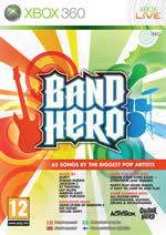 Hra pre Xbox 360 Band hero + nástroje