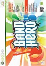 Hra pre Xbox 360 Band hero + nástroje dupl