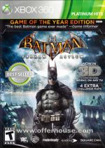 Hra pre Xbox 360 Batman: Arkham Asylum (Game of the Year Edition)