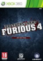 Hra pre Xbox 360 Brothers in Arms: Furious 4