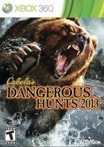 Hra pre Xbox 360 Cabelas Dangerous Hunts 2013 + puška