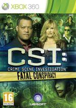 Hra pre Xbox 360 CSI: Fatal Conspiracy