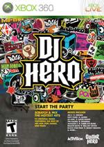 Hra pre Xbox 360 DJ Hero + gramofón