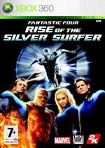 Hra pre Xbox 360 Fantastic Four: Rise of the Silver Surfer