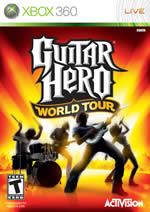 Hra pre Xbox 360 Guitar Hero 4: World Tour + nástroje