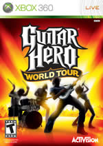 Hra pre Xbox 360 Guitar Hero 4: World Tour + gitara