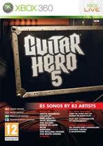 Hra pre Xbox 360 Guitar Hero 5 + gitara