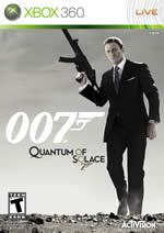Hra pre Xbox 360 James Bond: Quantum of Solace [bez pečate]