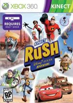 Hra pre Xbox 360 Kinect Rush: A Disney-Pixar Adventure - BAZAR