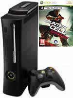 Prislušenstvo pre XBOX 360 XBOX 360 - herná konzola (Elite System) + Splinter Cell: Conviction