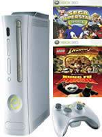 Prislušenstvo pre XBOX 360 XBOX 360 - herná konzola (premium) + 3 hry