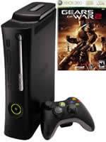 Prislušenstvo pre XBOX 360 XBOX 360 - herná konzola (Elite System) + Gears of War 2