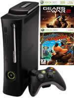 Prislu�enstvo pre XBOX 360 XBOX 360 - hern� konzola (Elite System) + Banjo / GOW 2