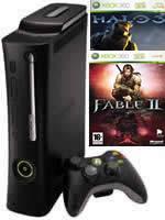 Prislušenstvo pre XBOX 360 XBOX 360 - herná konzola (Elite System) + Halo 3 / Fable 2 GOTY