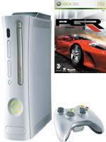 Prislušenstvo pre XBOX 360 XBOX 360 - herná konzola (arcade) + PGR 3