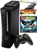 Prislušenstvo pre XBOX 360 XBOX 360 - herná konzola (Elite System) + Pure / Lego Batman
