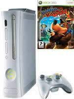 Prislušenstvo pre XBOX 360 XBOX 360 - herná konzola (arcade) + 2 hry (Banjo-Kazooie: Nuts & Bolts + Halo Wars)