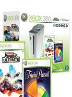 Prislušenstvo pre XBOX 360 XBOX 360 - herná konzola (60GB) + Burnout Paradise The Ultimate Box + Trivial Pursuit