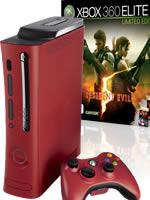 Prislušenstvo pre XBOX 360 XBOX 360 - herná konzola (Elite System) + Resident Evil 5