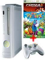 Prislušenstvo pre XBOX 360 XBOX 360 - herná konzola (premium) + hry Forza 2 a Viva Pinata