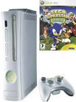 Prislušenstvo pre XBOX 360 XBOX 360 - herná konzola (arcade) + Sega Superstar Tennis