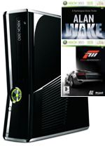 Prislušenstvo pre XBOX 360 XBOX 360 Slim - herná konzola (250GB) + Alan Wake / Forza Motorsport 3