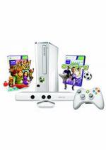 Prislušenstvo pre XBOX 360 XBOX 360 Slim - herná konzola (4GB) biela + ovládač Kinect + Kinect Adventures + Kinect Sports