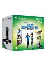 Prislušenstvo pre XBOX 360 XBOX 360 Slim - herná konzola (4GB) + ovládač Kinect + Kinect Adventures + Kinect Sports 2